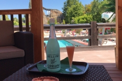 Bottiglia di Bellini di benvenuto